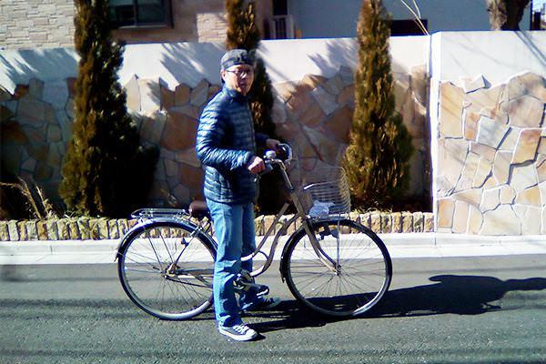 東京の便利屋が自転車に乗る