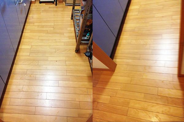 家の床 クリーニング 業者